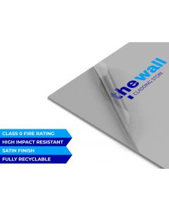 Palclad™ Prime Dolphin Grey Pvc Wall Cladding Sheet