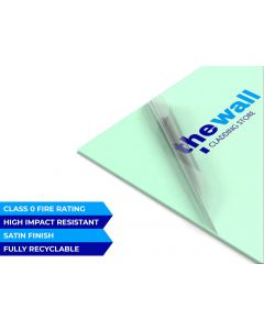Palclad™ Prime Pastel Mint Pvc Wall Cladding Sheet